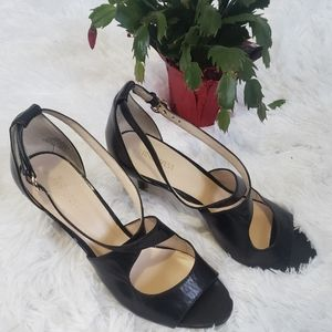 NINE WEST LEATHER SHOES SIZE 10
